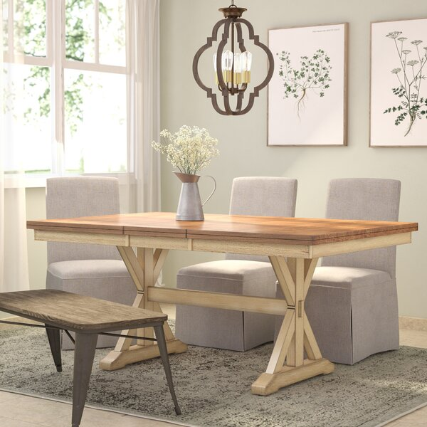 Courtdale Extendable Dining Table by Three Posts