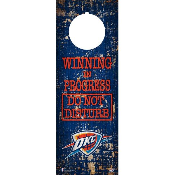 NBA Door Hanger Wall Décor by Fan Creations