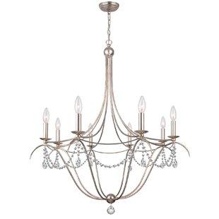 Crystorama solaris chandelier wayfair metro 8 light chandelier aloadofball Images