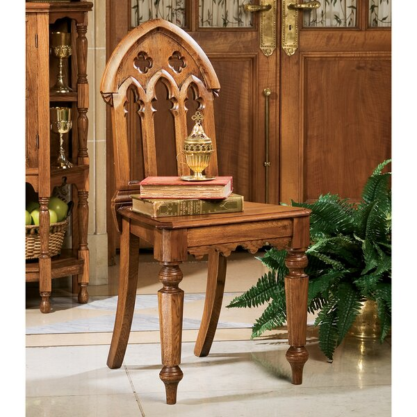 The Abbey Gothic Revival Side Chair by Design Toscano