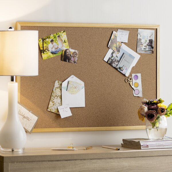 Wayfair Basics Wall Mounted Bulletin Board by Wayfair Basics™