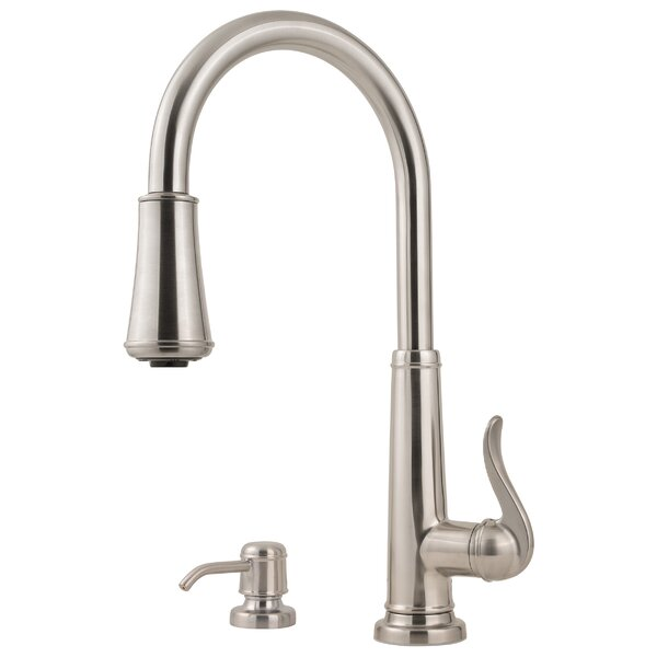 Ashfield Pull Down Single Handle Kitchen Faucet by Pfister