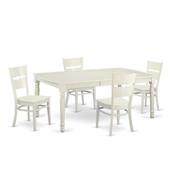 Carmel 5 Piece Dining Set By August Grove Today Sale Only