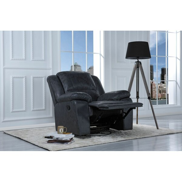 Henry Manual Swivel Rocker Recliner by Red Barrel Studio