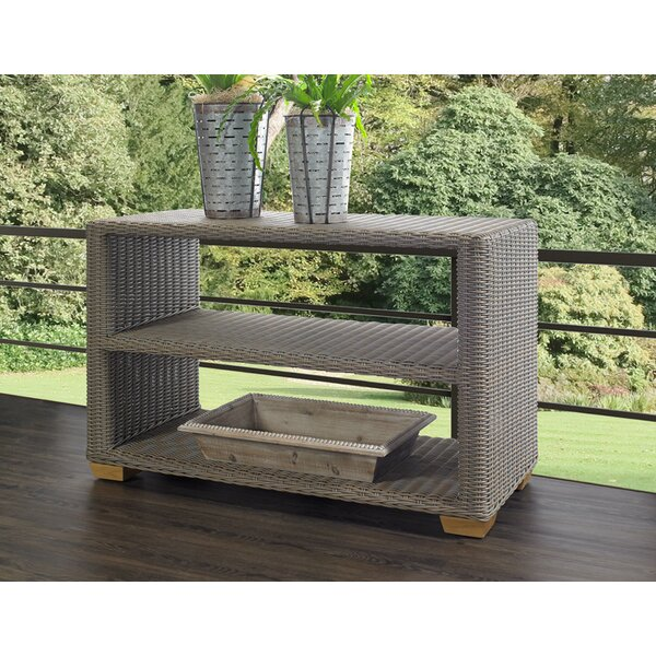 Ned WIcker Console Table by Rosecliff Heights