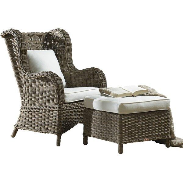 Exuma Wingback Chair by Panama Jack Sunroom