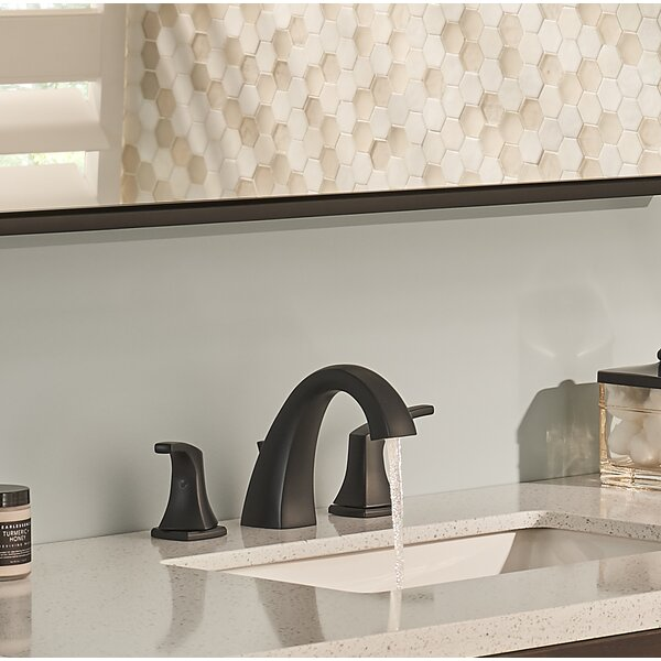 Vaughn Widespread Bathroom Faucet with Drain Assembly and Gerber® Treysta Valve Technology by Danze®