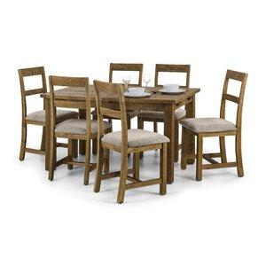 Essgruppe Ashcroft mit ausziehbarem Tisch und Stühlen von All Home
