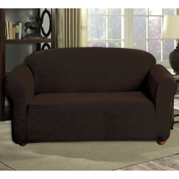 Review Box Cushion Loveseat Slipcover