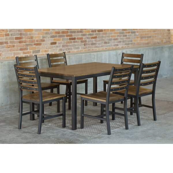 Bengta 7 Piece Dining Set by Latitude Run