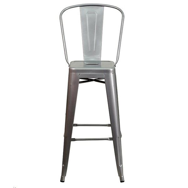 Ferrin High Back 26 Bar Stool (Set of 4) by 17 Stories