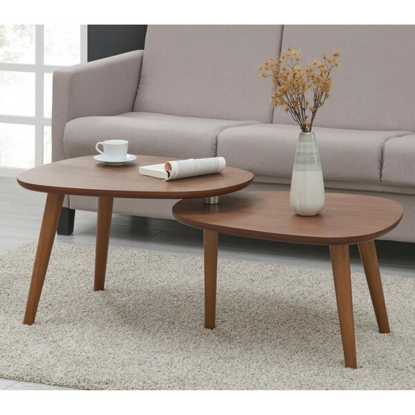 Borkholder 2 Piece Coffee Table Set by Corrigan Studio Corrigan Studio