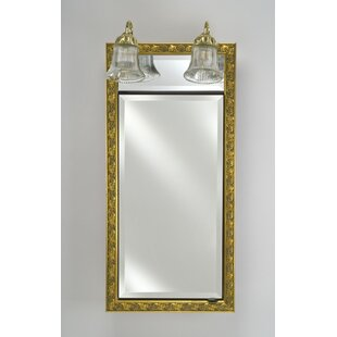 Eagle 24 x 34 Recessed Medicine Cabinet with Lighting ByCharlton Home