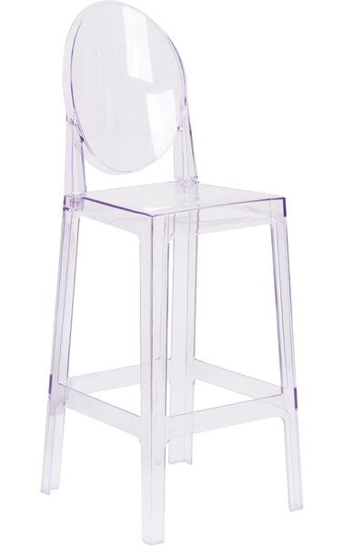 Mccrory Transparent 43 Patio Bar Stool (Set of 2) by House of Hampton