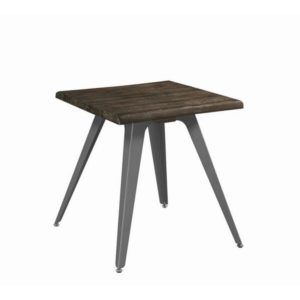 Leda End Table by 17 Stories
