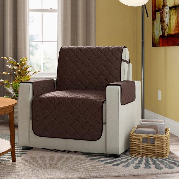 Compare Price Diamond T-Cushion Armchair Slipcover