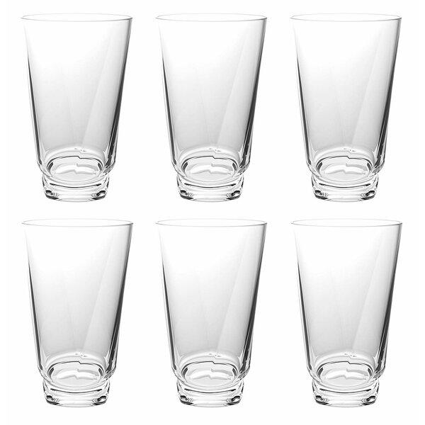 Douglasville 22 oz. Acrylic Drinking Glass (Set of 6) by Winston Porter