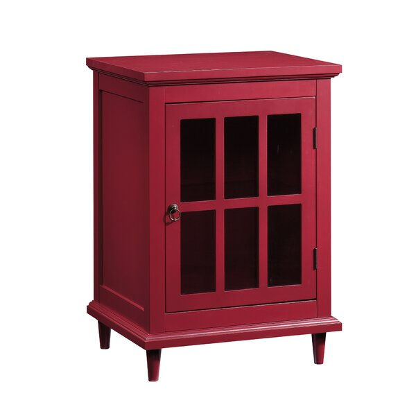 Sisemore 1 Door Accent Cabinet by Darby Home Co Darby Home Co