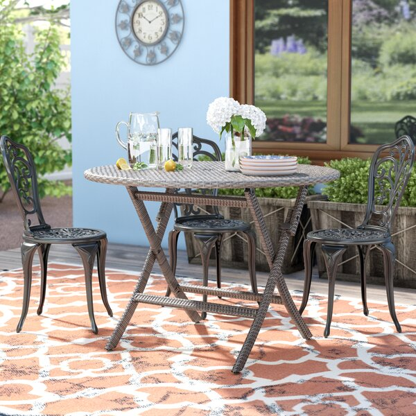 Renard Wicker/Rattan Dining Table by Safavieh
