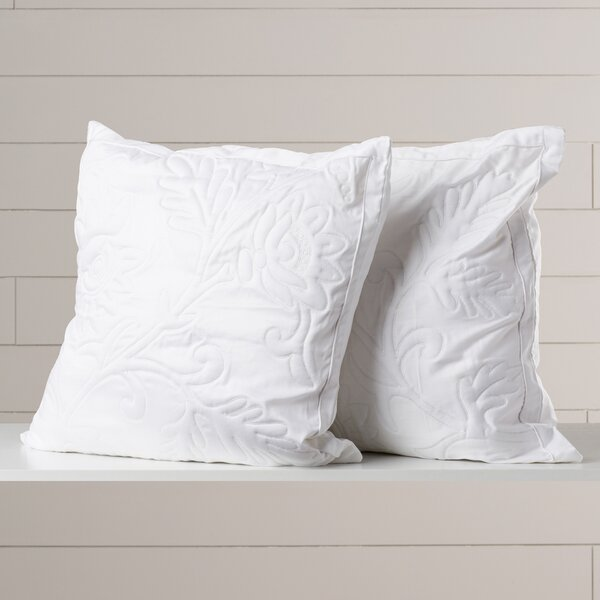 Opal Quilted Throw Pillow (Set of 2) by One Allium Way