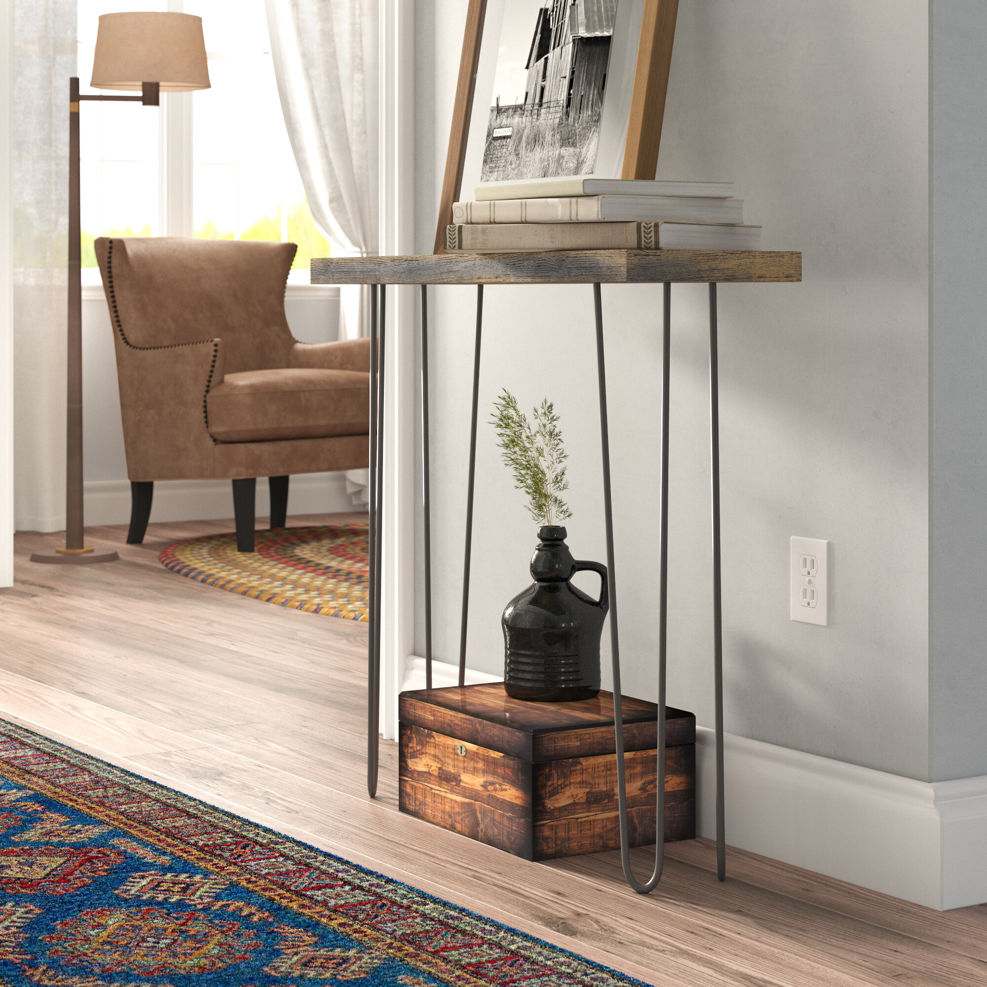 Union Rustic Thirza 30'' Console Table & Reviews | Wayfair