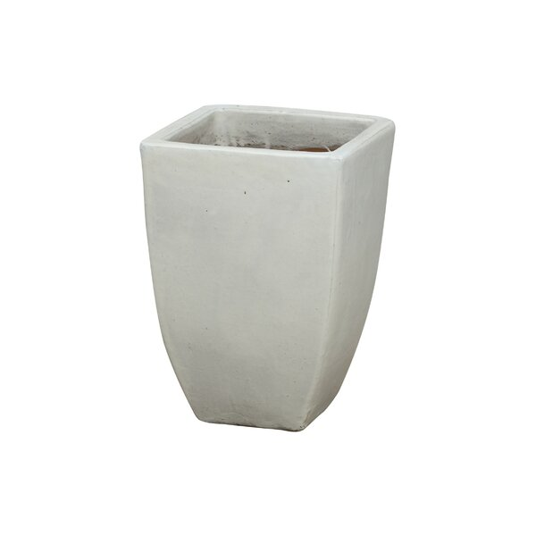 Connell Square Ceramic Pot Planter by Orren Ellis