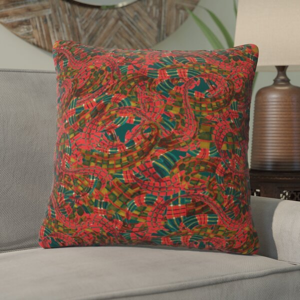 Jade Bundle Throw Pillow by Bungalow Rose