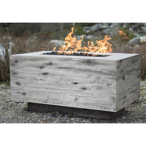 Catalina Concrete Outdoor Fireplace by The Outdoor Plus