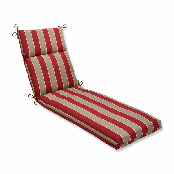 Wickenburg Indoor/Outdoor Chaise Lounge Cushion by Pillow Perfect