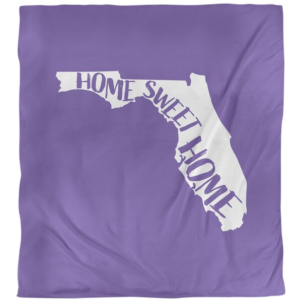 Home Sweet Florida Duvet Cover