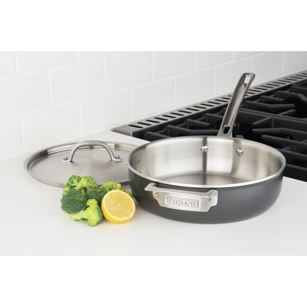 Sauce Pan with Lid by Viking