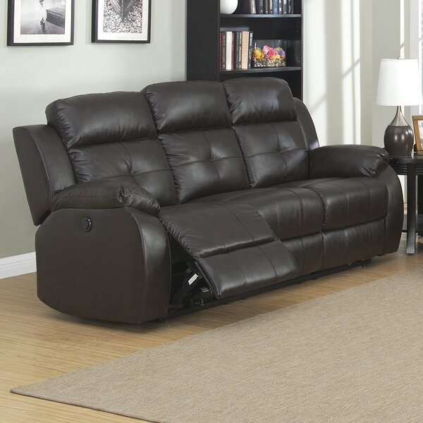 Troy Reclining Sofa by AC Pacific
