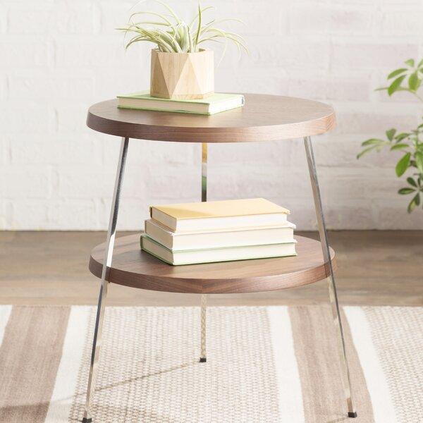 Plotinus 3 Legs End Table With Storage By Mercury Row