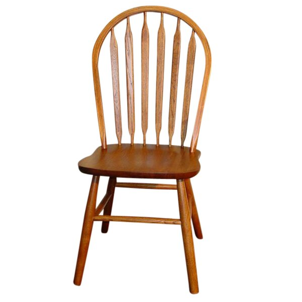 Braydon Classic Arrowback Solid Wood Dining Chair (Set of 2) by Loon Peak
