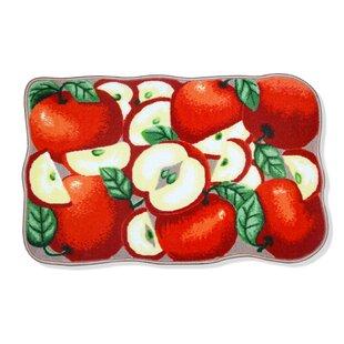 kitchen apple rugs | wayfair Apple Rugs