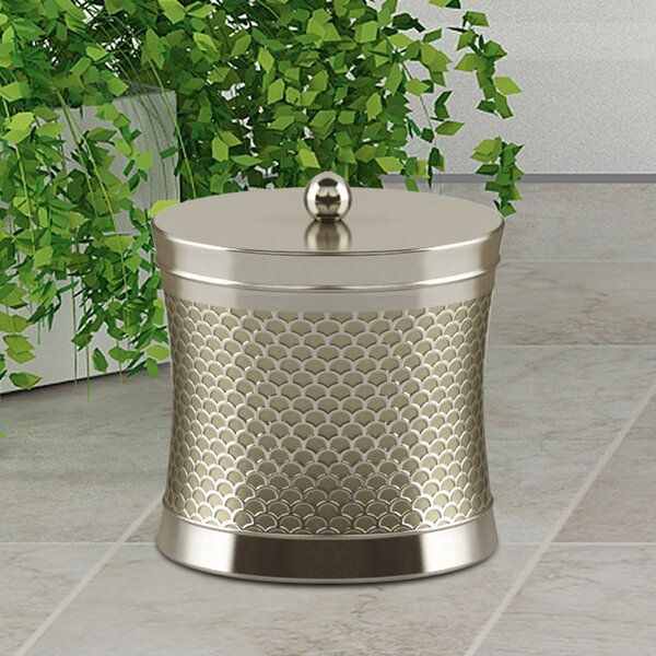 Trellis Cotton Swab Container By Nu Steel.