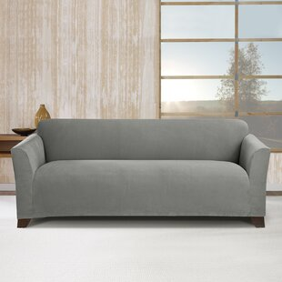 Stretch Morgan Box Cushion Sofa Slipcover