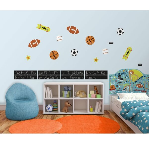WallPops Junior Varsity Wall Mural by Brewster Home Fashions