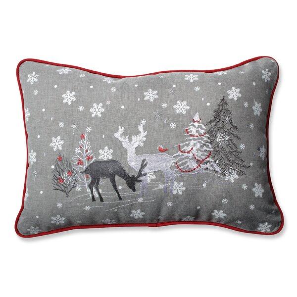 Christmas Lumbar Pillow by Pillow Perfect