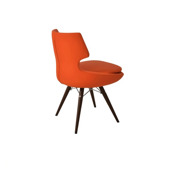Schiffer Upholstered Dining Chair by Wrought Studio