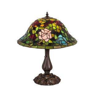 Compare prices Rosebush 20 Table Lamp By Meyda Tiffany