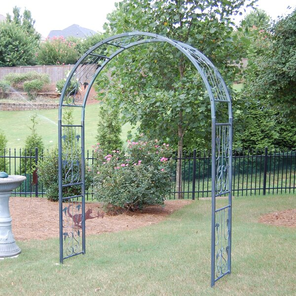Vineyard Classic Steel Arbor by Griffith Creek Designs