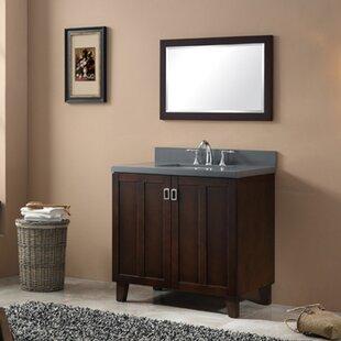 save ehlert 36 single bathroom vanity set - Wood Bathroom Vanities