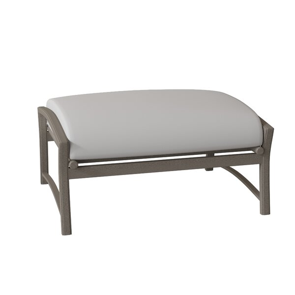 Corsica Ottoman with Cushion by Tropitone