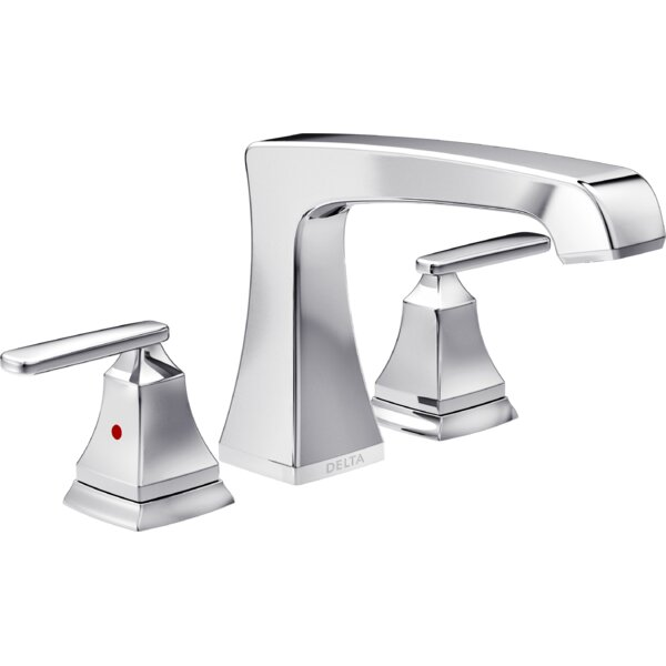 Ashlyn Double Handle Deck Mounted Roman Tub Faucet Trim By Delta