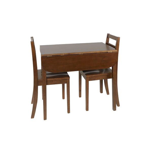 Henrik 3 Piece Drop Leaf Dining Set by Andover Mills