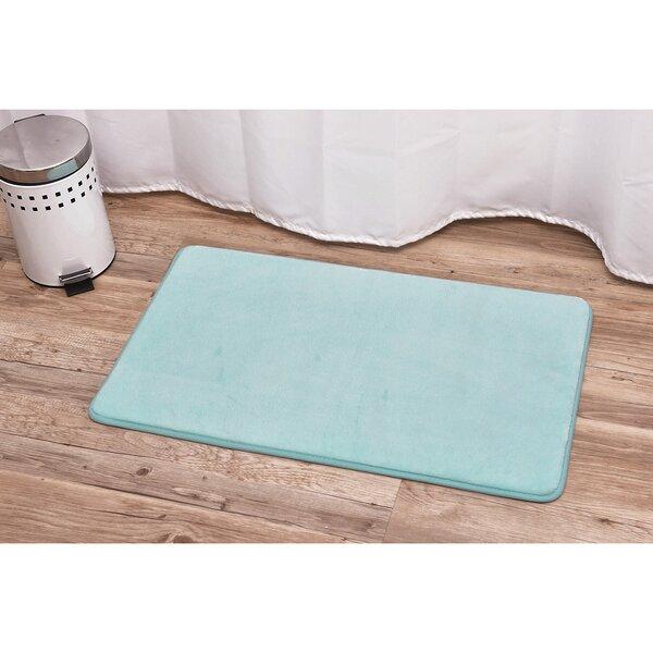 Rectangular Microfiber Rectangle Non-Slip Bath Rug