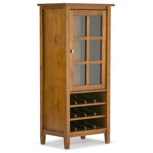 Alameda 12 Bottle Floor Wine Cabinet by Alcott Hill Alcott Hill