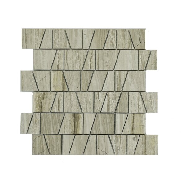 Arthur Marble Mosaic Tile in Taupe by A Touch of Design