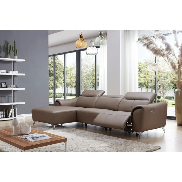 Best Recommend Zebediah Reclining Sectional by Orren Ellis by Orren Ellis